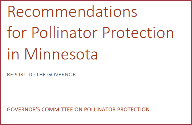 Recommendations for Pollinator Protection in Minnesota