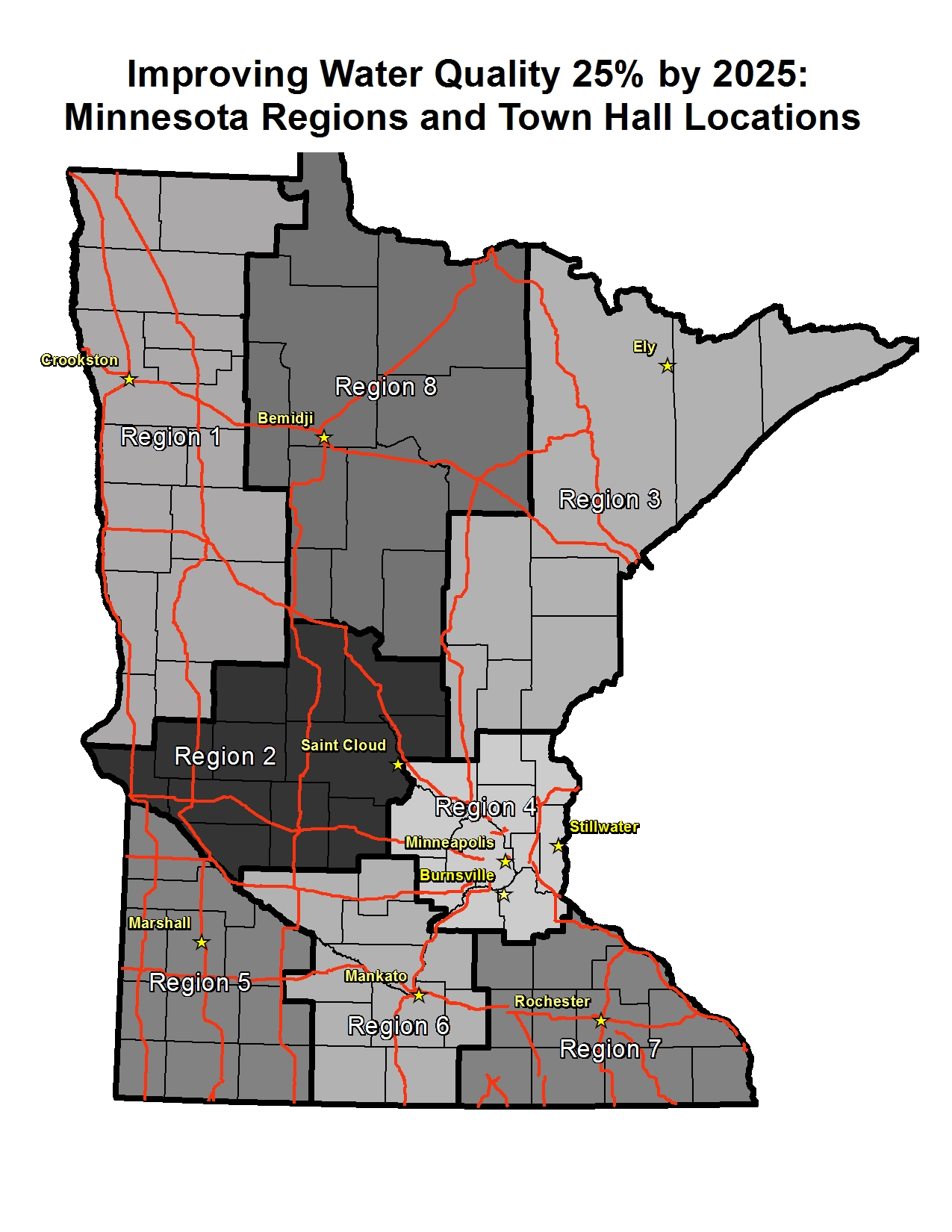 The 25 By 2025 Town Halls Will Offer Minnesotans An Opportunity To Discuss The Water Quality Challenges Facing Their Communities And Our State