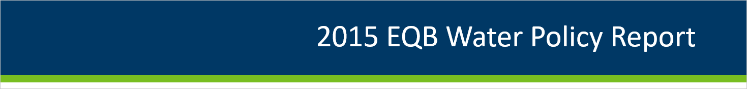 2015 EQB Water Policy Report